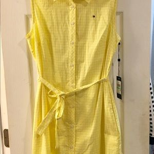 Tommy dress nwt. No damage comes with free gift